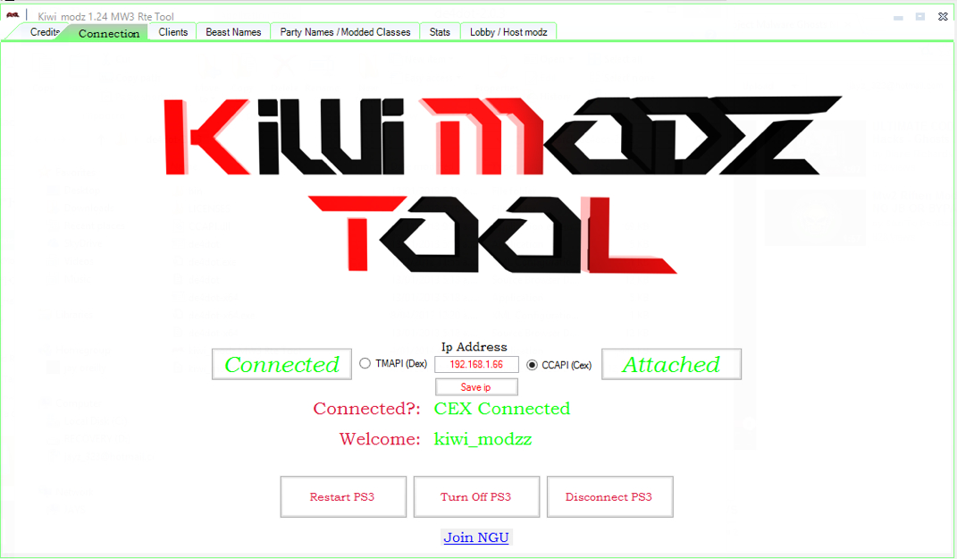 Kiwi RTM PS3 CEX & DEX JAILBREAK *Best Tool Yet* - Jordan's Site